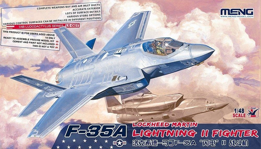 MNGLS-007 - Meng Model 1:48 Scala Modello - F-35A Fulmini II