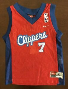 b3a08214e6baf Vintage Nike NBA Los Angeles Clippers Lamar Odom Basketball Jersey ...