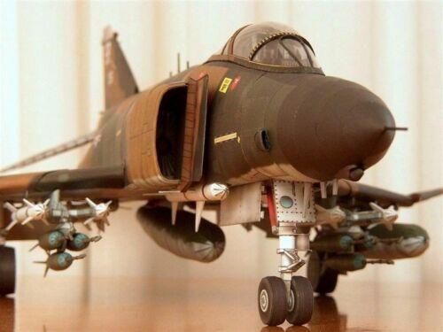 1:33 Scale Phantom F-4B Mig Killer Fighter DIY Paper Model Kit