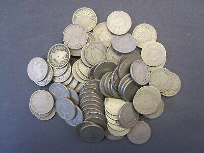 40 Coins Good Mixed Liberty V Nickel Roll 40