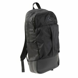 NIKE Air Jordan Jumpman Fluid Pack Backpack Black Water Resistant 9A0166-023 NEW