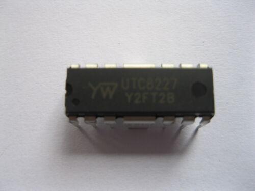 1 Pcs IC Chip UTC8227 Audio Amplifier DIP 14 pin Transistor New