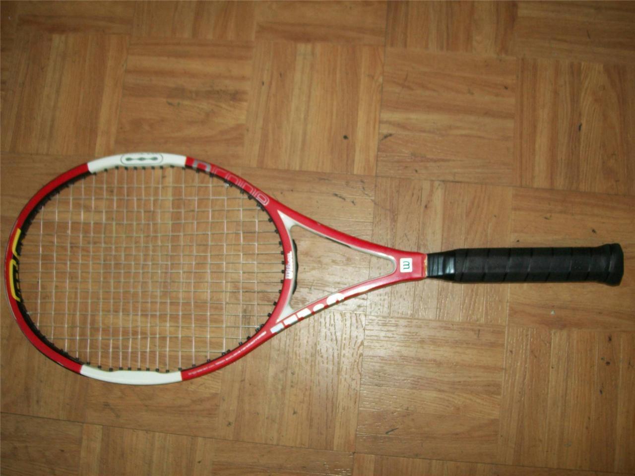 Wilson Hammer 4.4 Stretch Midplus 95 4 1 4 grip Tennis Racquet