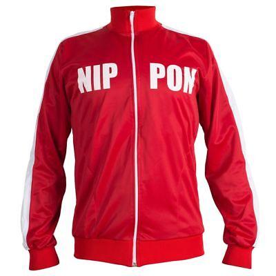Il Giappone Nippon 1964 Retrò Football Jacket Tuta Da Ginnastica Maglione Con Cerniera Uomo Top-