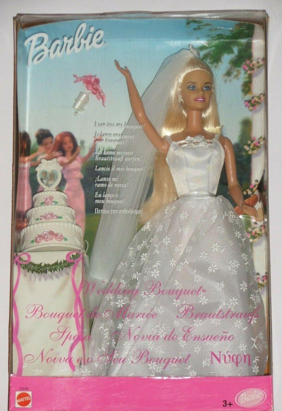 Barbie Bouquet de Mariée - En Boite Neuve   - 52649 - Vintage 2001  tutti i prodotti ottengono fino al 34% di sconto