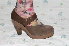 Pedro Garcia García cuero señora zapatos de salón tacón alto platform shoes mercancía nueva 39