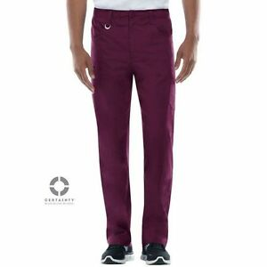 Pantalon-Antimicrobien-Dickies-Medical-Bordeaux-81111A