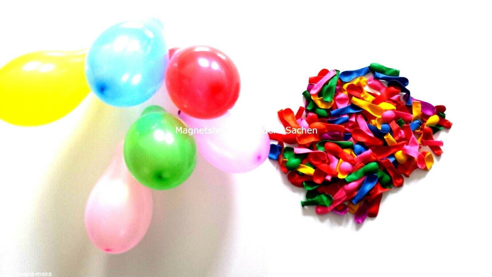 Neue Mini oder große Luftballons Mix befüllbar mit Luft, Wasser oder Helium