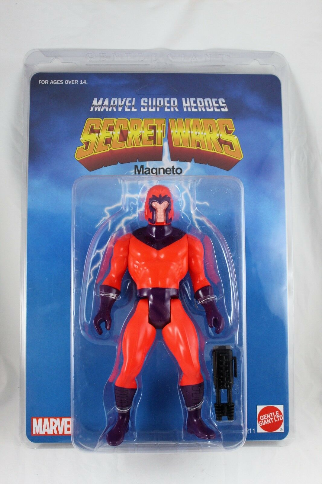 Marvel Super Heroes Secret Wars Jumbo 12  Gentle Giant Magneto Figure