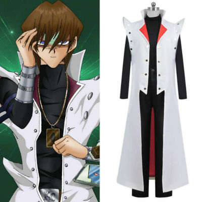 Yu Gi Oh GX Seto Kaiba Uniform Suit Cosplay Costume Custom Made
