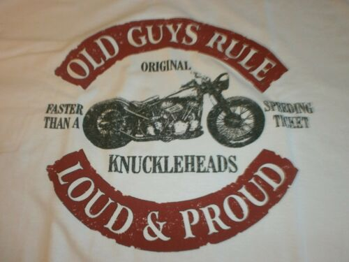 OLD GUYS RULE ORIGINAL KNUCKLEHEADS LOUD AND PROUD POCKET S/S T-