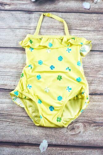 New Gymboree Girl Yellow Beach Swimsuit 3T