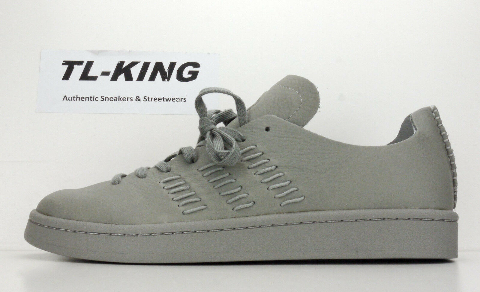 Adidas originali ali + scisto corna - campus di scisto + gray mono bb3116 msrp 150 gx 62627e