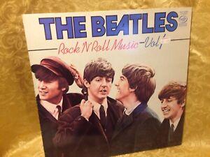 THE BEATLES Rock N' Roll Volume 1 50506 LP 1976 *UK IMPORT