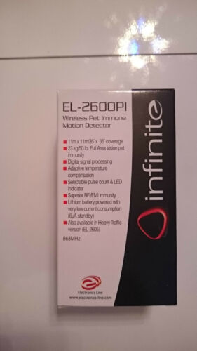 ESP INF-PET EL-2600PI wireless motion sensor Infinite+Prime+Commpact+Secuself