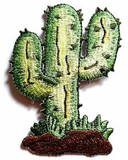 Ecusson Patch thermocollant brodé Cactus