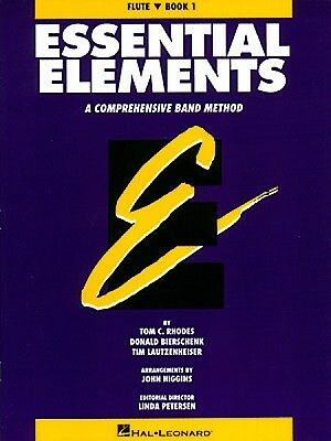 Musical Instruments & Gear Dashing Essential Elements Book 1 Original Series Flute Book New 000863501 Careful Calculation And Strict Budgeting