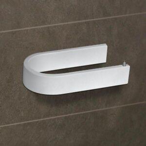 Dettagli su Porta Rotolo Carta Igienica Accessori Bagno Bianco Koh-I-Noor  6008V Materia