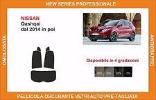 pellicola oscurante vetri pre-tagliata Nissan qashqai dal 2014 in poi post