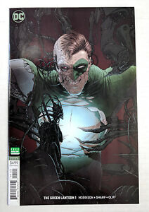 Green Lantern #1 DC Universe 2018 Series Blank Cover Variant 9.6 Near Mint+
