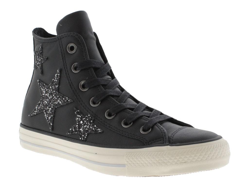 Converse All Star CTAS Curvado Eyestay Eyestay Eyestay Hi Zapatos Altos Mujer 559012C Negra  para proporcionarle una compra en línea agradable