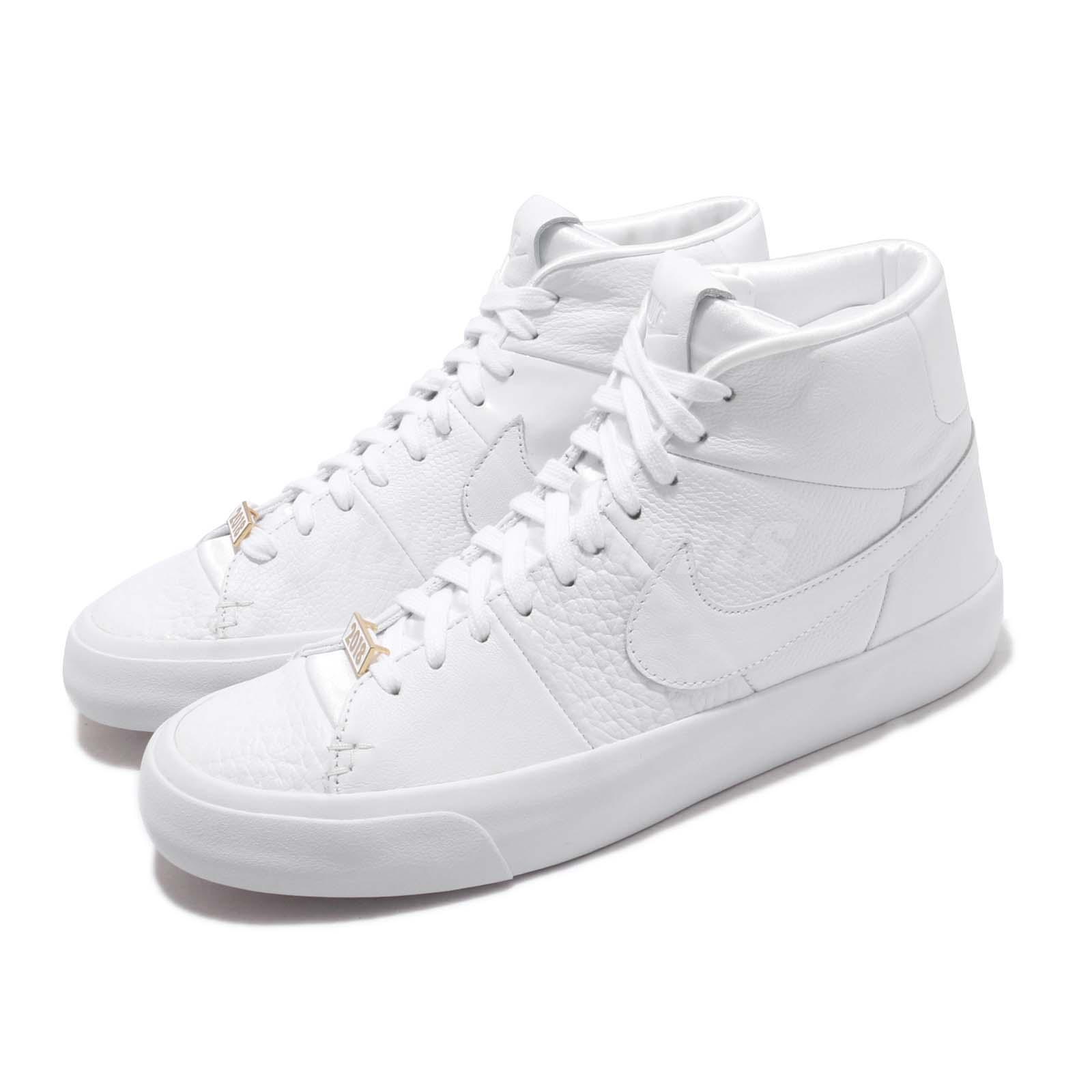 Nike Blazer Royal QS White gold Men Casual Lifestyle shoes Sneakers AR8830-100
