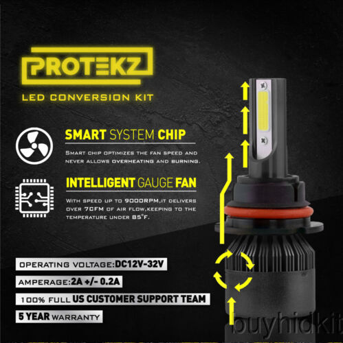 CREE LED Headlight Kit 881 White 6K Fog Light Bulb for HYUNDAI Elantra 2007-2016