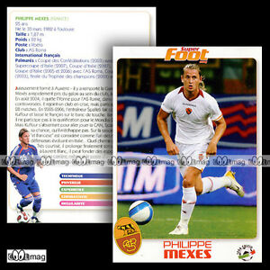 Philippe Mexes (asr As Roma / Rome) - Fiche Football Sf / Calcio