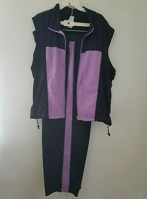 Be Inspired Women/'s Zipper Front Black Lime Yoga Active wear Top Jacket 3X NWT.