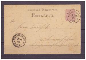 Deutsches-Reich-Ganzsache-P-12-02-Dorum-nach-Bremerhaven-1885
