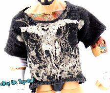WWE Mattel Elite 2 TRIPLE H SHIRT Wrestling FIGURE Accessory - DX COO WWF_a7