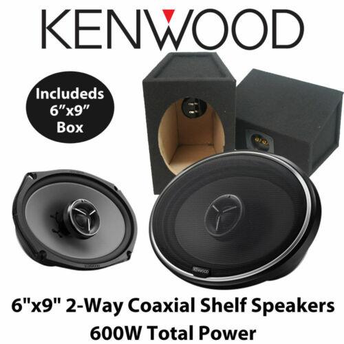 """Kenwood KFC-X694-6/"""" x 9/"""" 2 Way Voiture Coaxial étagère Haut-parleurs 600 W Boîte 6x9 Deal"""