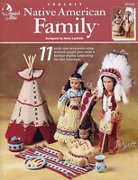 Native American Family Teepee & Accessories, Annie's Crochet Patterns