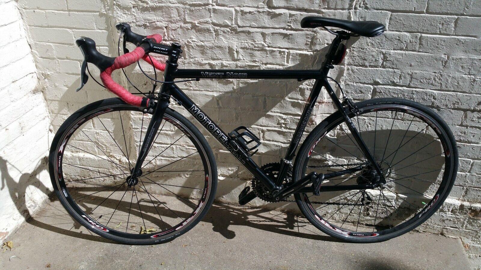 56cm 27-Speed Motobecane Vent black Road Bike