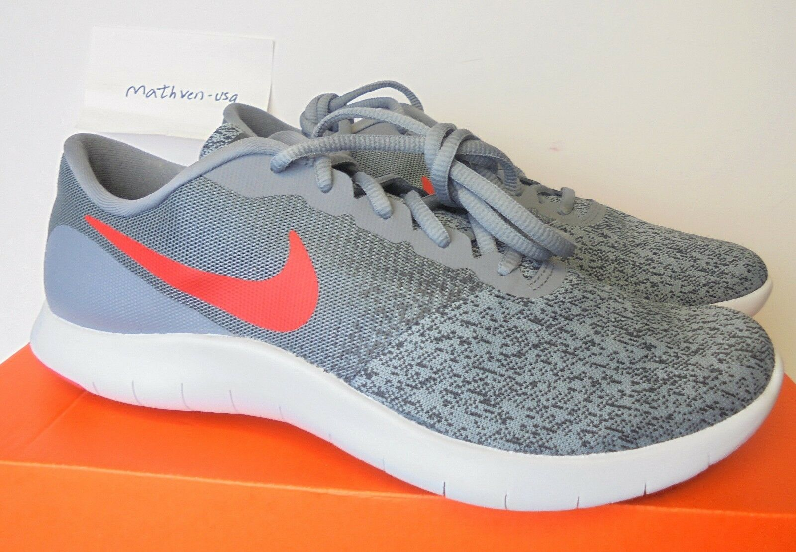 Nike Flex Contact men's running  athletic sneakers gray Price reduction