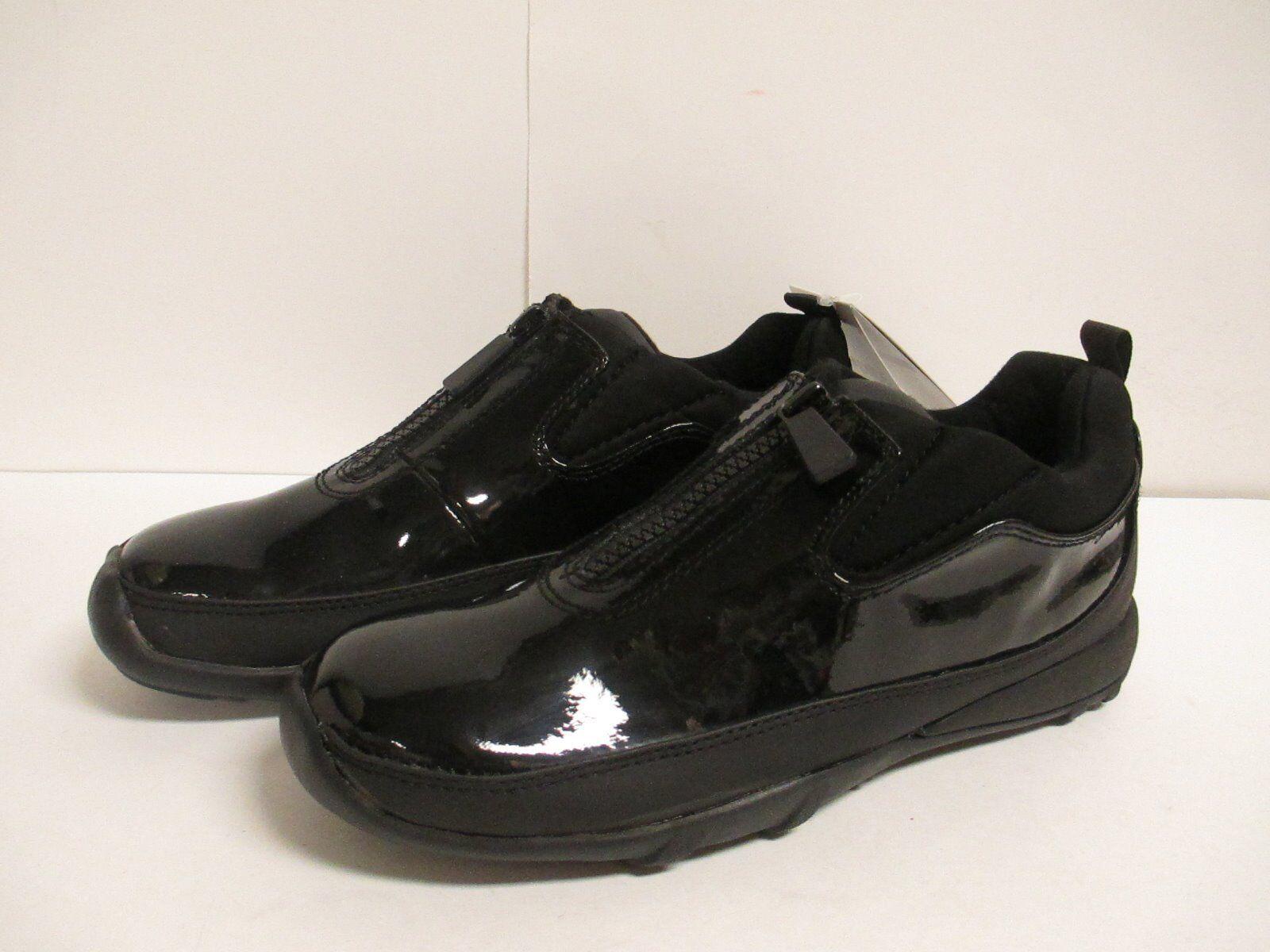 Cougar Howdoo Zip Front Waterproof  Women's Short Duck Boot Black Patent NIB