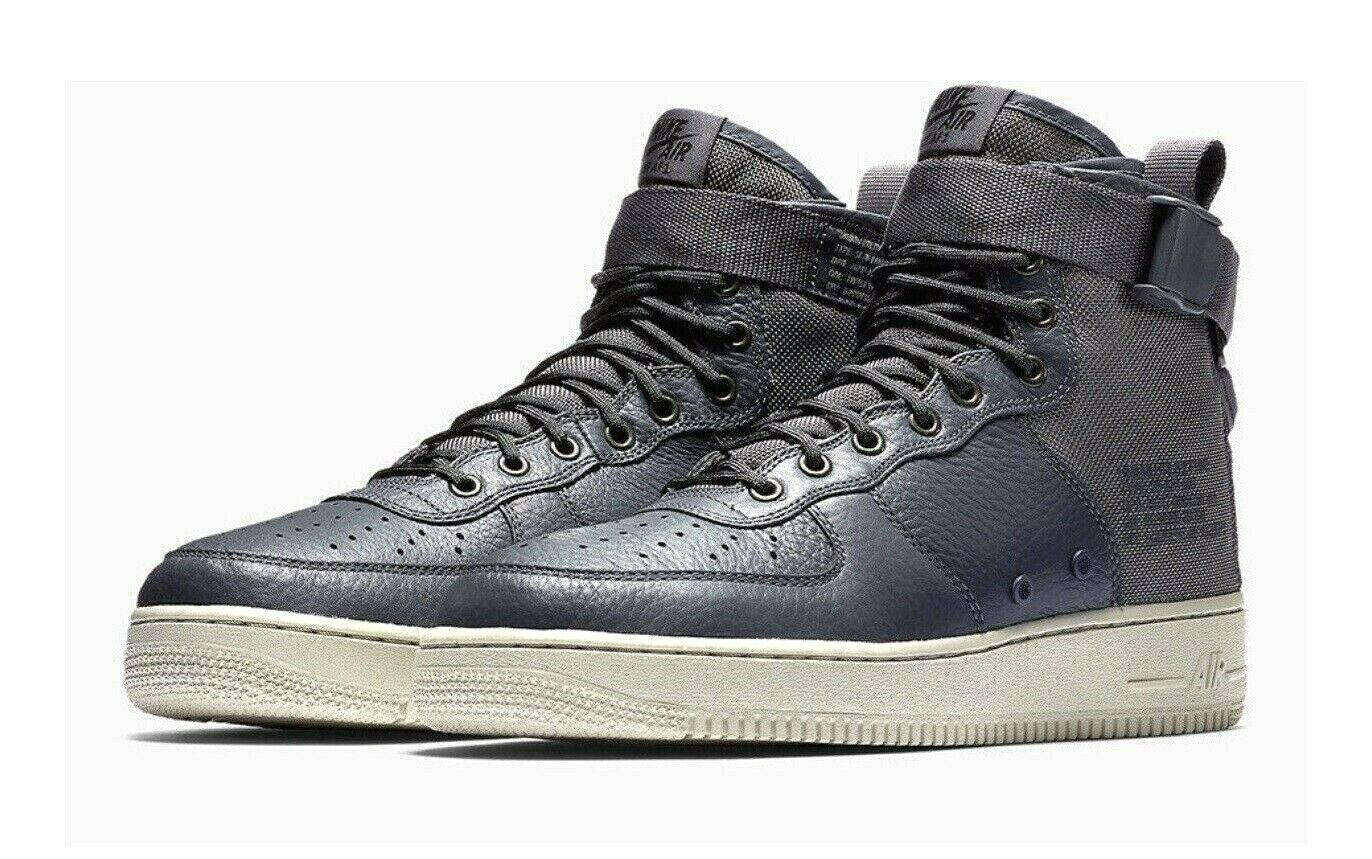NEW Men's Size 11 Nike SF AF1 Mid Top shoes 917753-004 Dark Grey Air Force Ones
