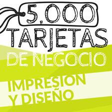 5,000 TARJETAS DE PRESENTACION - BUSINESS CARD