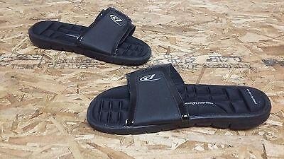New Mens Proplayer Rave Slide Sandals Black 108J