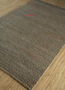 Vintage Indian Jute 100%Natural style Hand Braided Bohemian home décor Jute Rugs