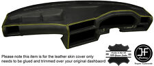 YELLOW STITCH DASHBOARD LEATHER SKIN COVER FOR BMW 3 SERIES E30 81-92 STYLE 2