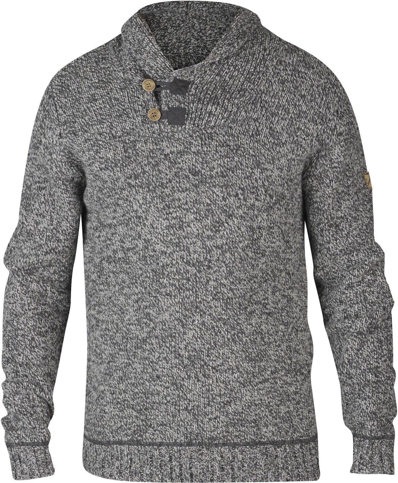 Fjäll Räven Lada Sweater Pullover Gr.M Grau 81346