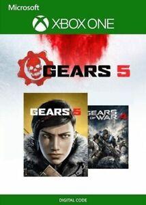 INGRANAGGI-5-ULTIMATE-EDITION-GEARS-OF-WAR-4-Bundle-PC-Xbox-Chiave-codice-One-Global