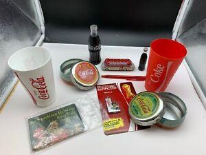 Coca-Cola-Collector-Convolute-10-Pieces-Top-Zustand