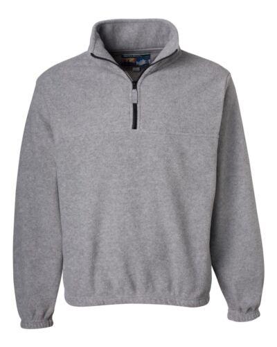 Sierra Pacific Quarter-Zip Fleece Anti-pill Pullover Sweat 3051 S-6XL on SALE!