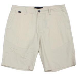 Oakley-Workshop-Evo-Shorts-Mens-Size-36-XL-Sand-Beige-Casual-Plain-Walkshort