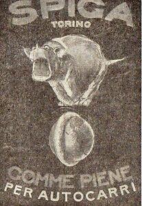 Pubblicita-vintage-Spiga-gomme-pneumatici-Torino-advertising-reklame-werbung-A2