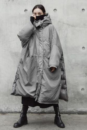 Oversize Varm Duck Thicken Hoodie Down Loose Outwear Womens Winter Nye Jakker qw0Ffg4Yxn