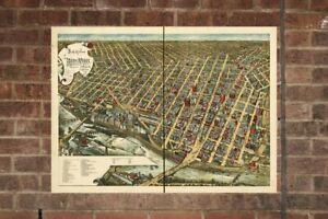 Vintage-Minneapolis-Print-Aerial-Minneapolis-Photo-Vintage-Minneapolis-MN-Pic