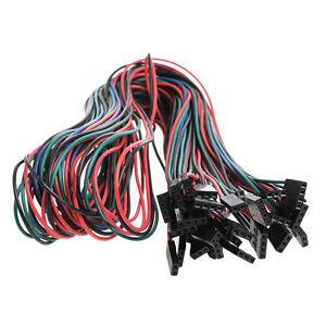 14pcs wiring cables for 3d printer reprap ramps 1 4 endstops reprap encoder image is loading 14pcs wiring cables for 3d printer reprap ramps